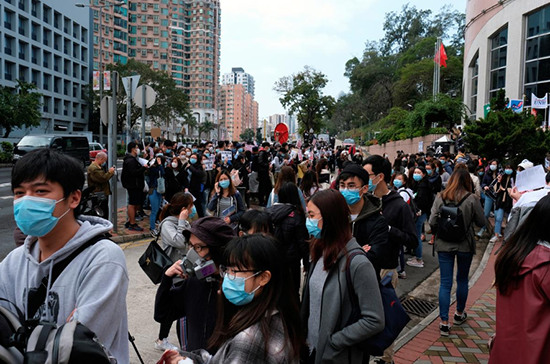 Ситуация с новим коронавирусом в Гонконге