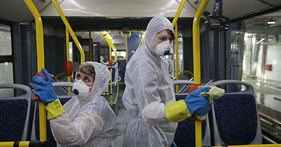 Ситуация с коронавирусом в Питере