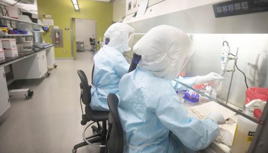 Институт вирусологии в городе Ухань в Китае