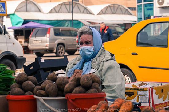 Последние данные о режиме самоизоляции в Тульской области
