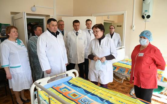 Ситуация с коронавирусом в городе Тверь